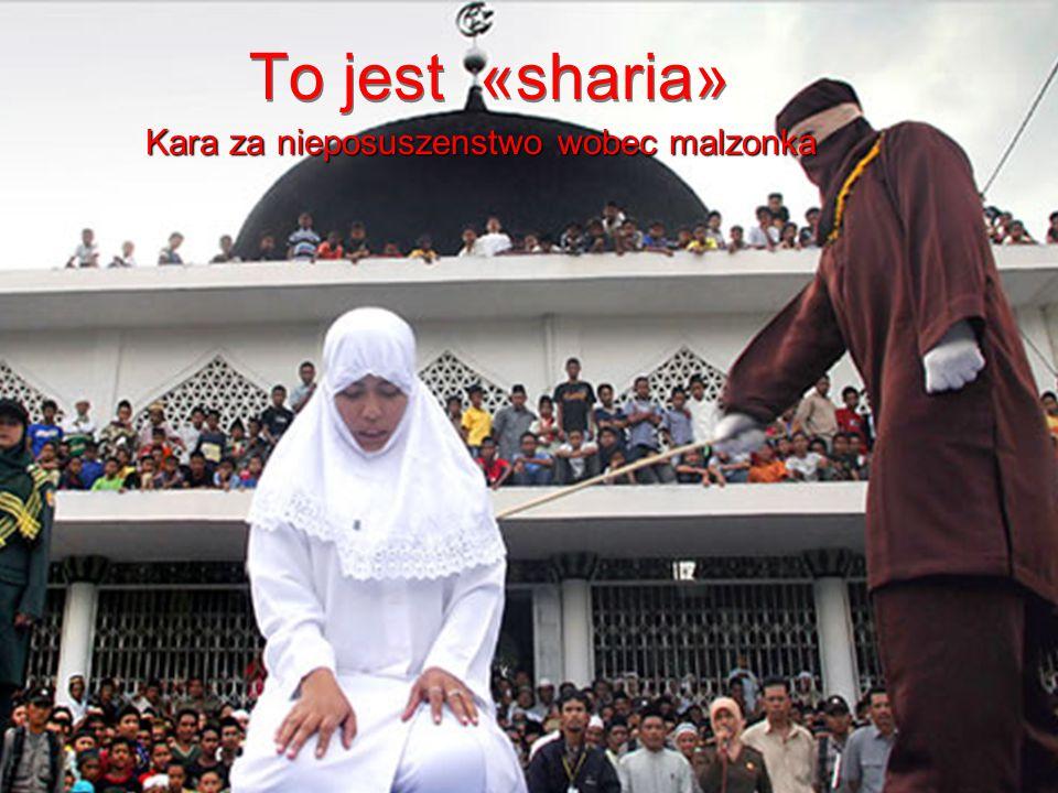 Poczynając od tego miejsca rozpoczynają wymuszać na miejscowych władzach zgodę na kierowanie się w swoich gettach, własnymi prawami jak «Sharia»,prawa