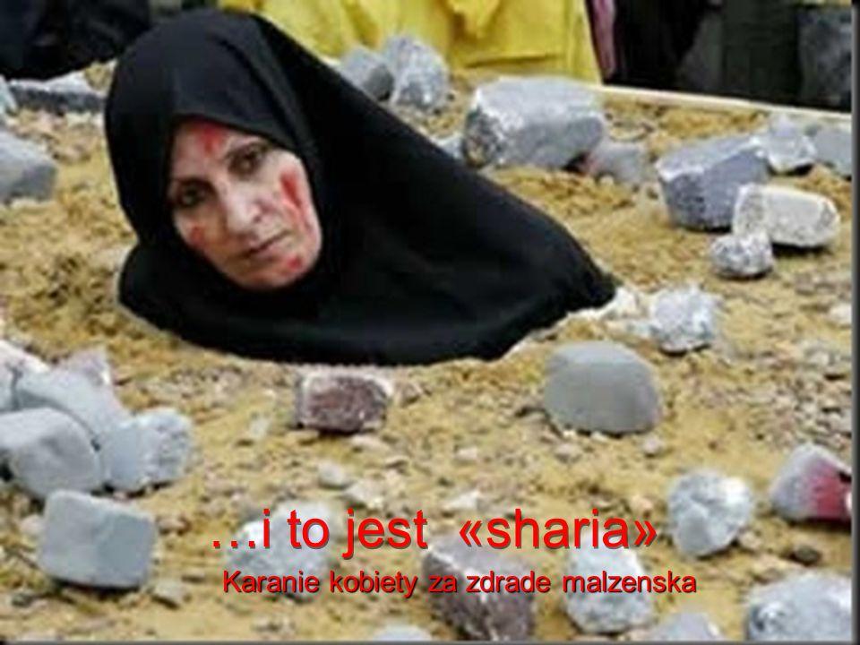 To jest «sharia» Karanie dziecka za kradziez