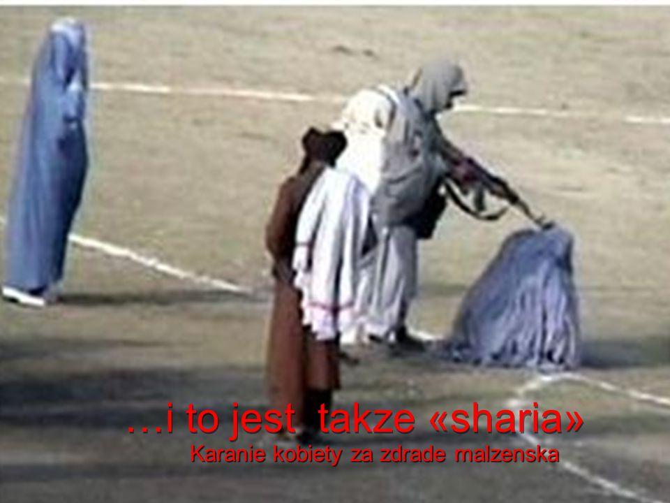 …i to jest «sharia» Karanie kobiety za zdrade malzenska