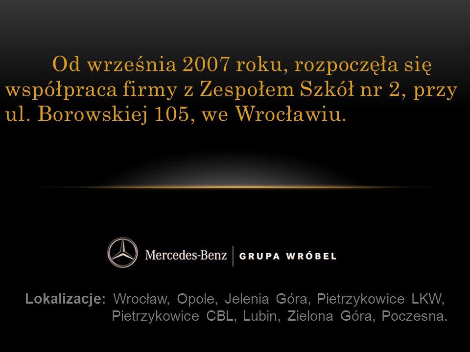 Lokalizacje: Wrocław, Opole, Jelenia Góra, Pietrzykowice LKW, Pietrzykowice CBL, Lubin, Zielona Góra, Poczesna. Od września 2007 roku, rozpoczęła się