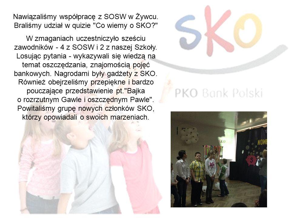 Nawiązaliśmy współpracę z SOSW w Żywcu.