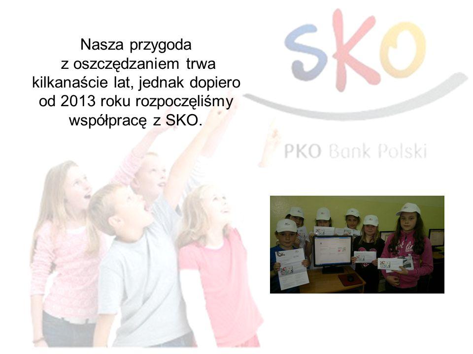Nasza przygoda z oszczędzaniem trwa kilkanaście lat, jednak dopiero od 2013 roku rozpoczęliśmy współpracę z SKO.