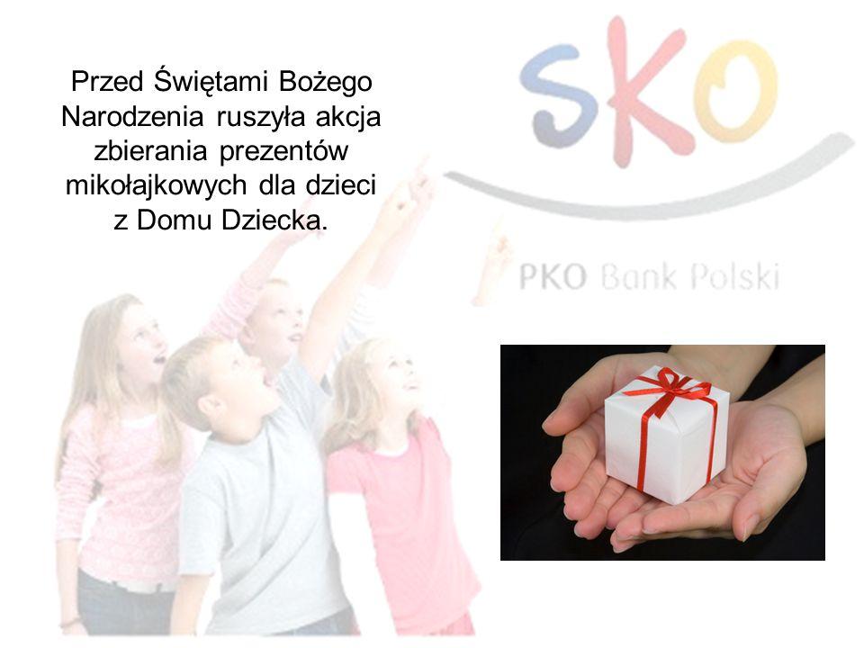 Przed Świętami Bożego Narodzenia ruszyła akcja zbierania prezentów mikołajkowych dla dzieci z Domu Dziecka.