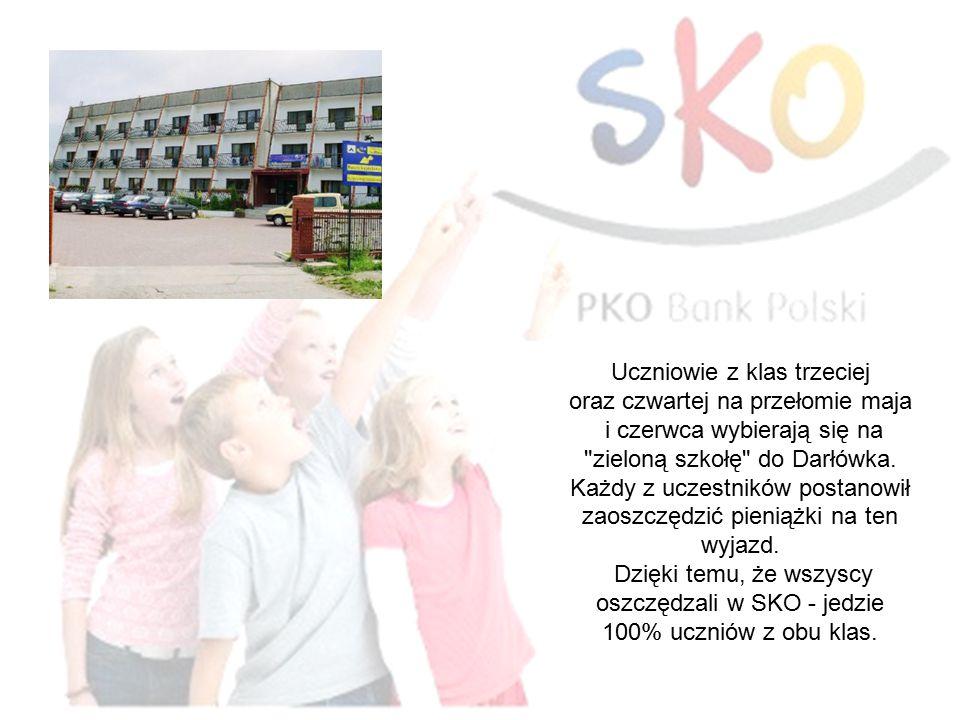 Uczniowie z klas trzeciej oraz czwartej na przełomie maja i czerwca wybierają się na zieloną szkołę do Darłówka.