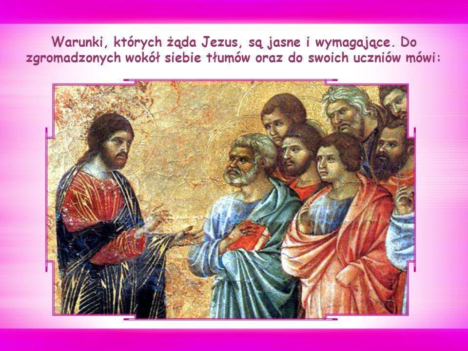 Jezus ponownie udaje się w drogę, tym razem w kierunku Jerozolimy, gdzie wypełni się Jego przeznaczenie: śmierć i zmartwychwstanie.