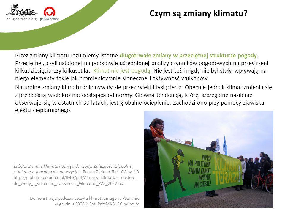 eduglob.zrodla.org Efekt cieplarniany jest naturalnym zjawiskiem, polegającym na utrzymywaniu stałej temperatury na Ziemi dzięki obecności gazów cieplarnianych w atmosferze.