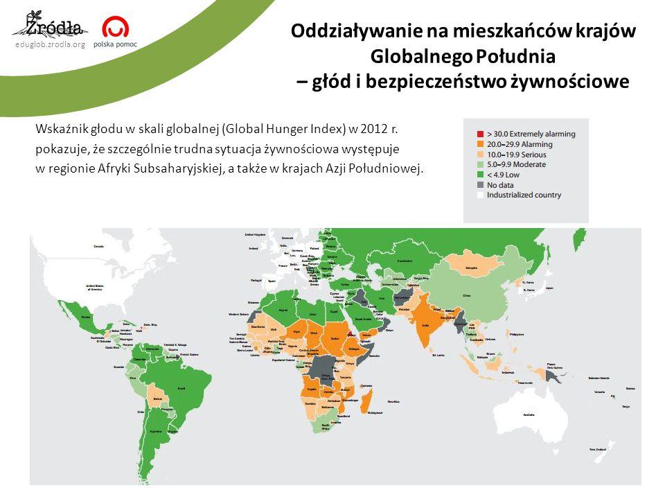 eduglob.zrodla.org Wskaźnik głodu w skali globalnej (Global Hunger Index) w 2012 r.