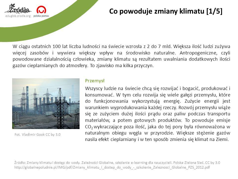eduglob.zrodla.org Produkcja cementu Z uwagi na ogromne zapotrzebowanie na ten surowiec, przemysł cementowy odpowiada za 4% globalnych emisji CO 2.