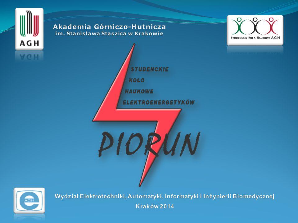 O Kole… Koło Naukowe Elektroenergetyków PIORUN powstało z inicjatywy studentów III roku kierunku Technika Wysokich Napięć, którzy zgłosili prof.