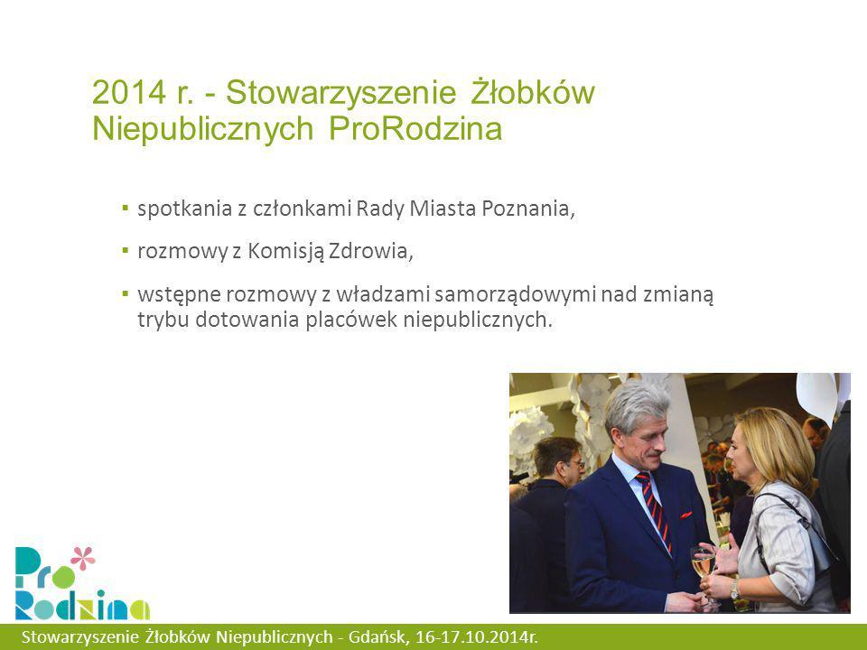 ▪ spotkania z członkami Rady Miasta Poznania, ▪ rozmowy z Komisją Zdrowia, ▪ wstępne rozmowy z władzami samorządowymi nad zmianą trybu dotowania placówek niepublicznych.