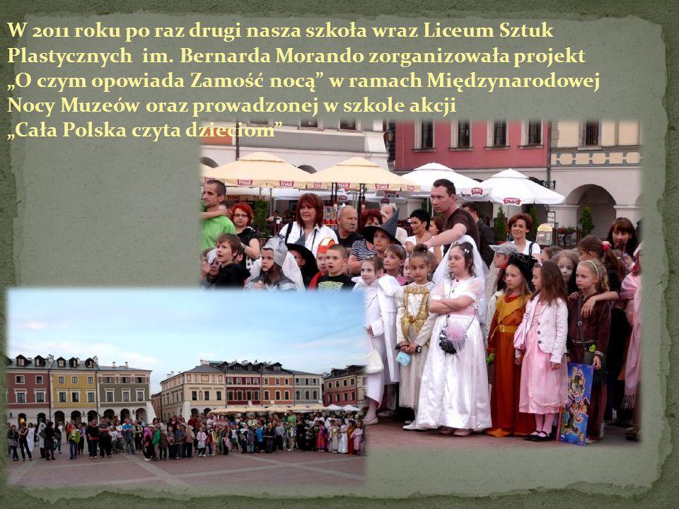 W 2011 r0ku po raz drugi nasza szkoła wraz Liceum Sztuk Plastycznych im.