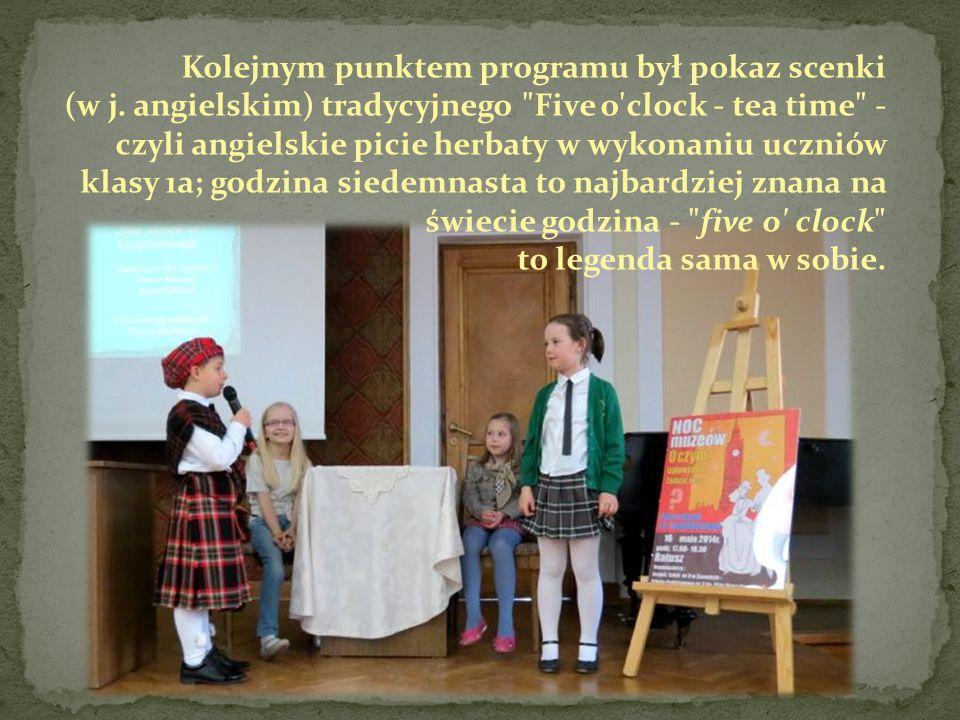 Kolejnym punktem programu był pokaz scenki (w j. angielskim) tradycyjnego