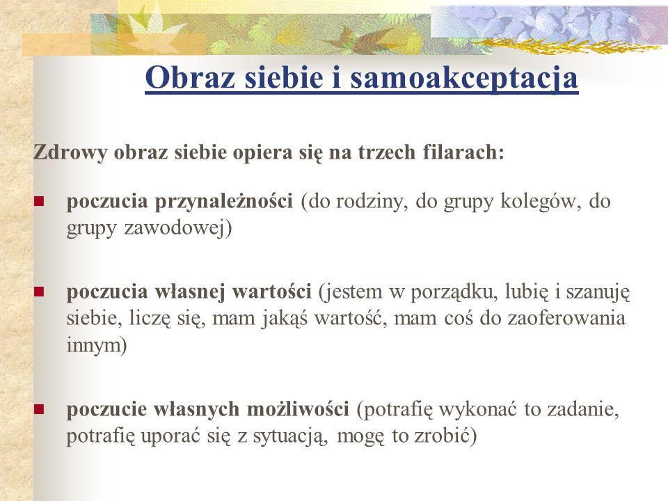 POCZUCIE WŁASNYCH MOŻLIWOŚCI I KOMPETENCJI POZWALA CZŁOWIEKOWI SPOJRZEĆ OPTYMISTYCZNIE NA ŻYCIE, DODAJE MU NADZIEI I ODWAGI Opracowała: Barbara Taraszkiewicz