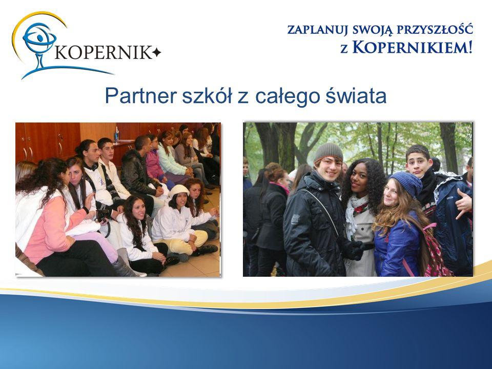 Partner szkół z całego świata