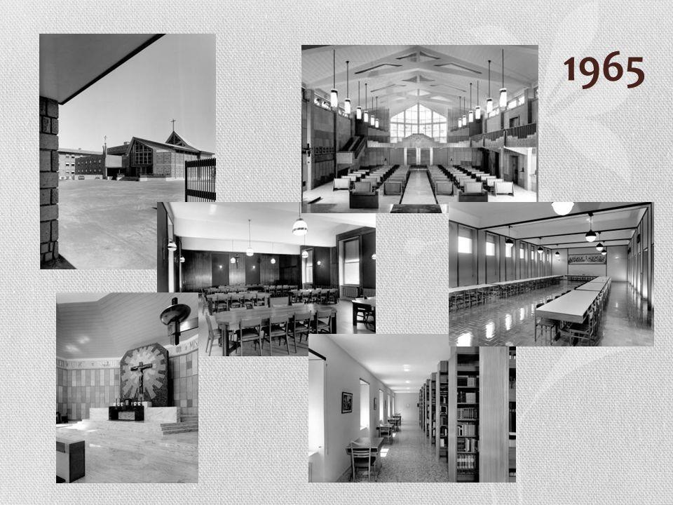 Poświęcenie domu i kaplicy p.w. Świętej Rodziny 26 kwietnia 1965