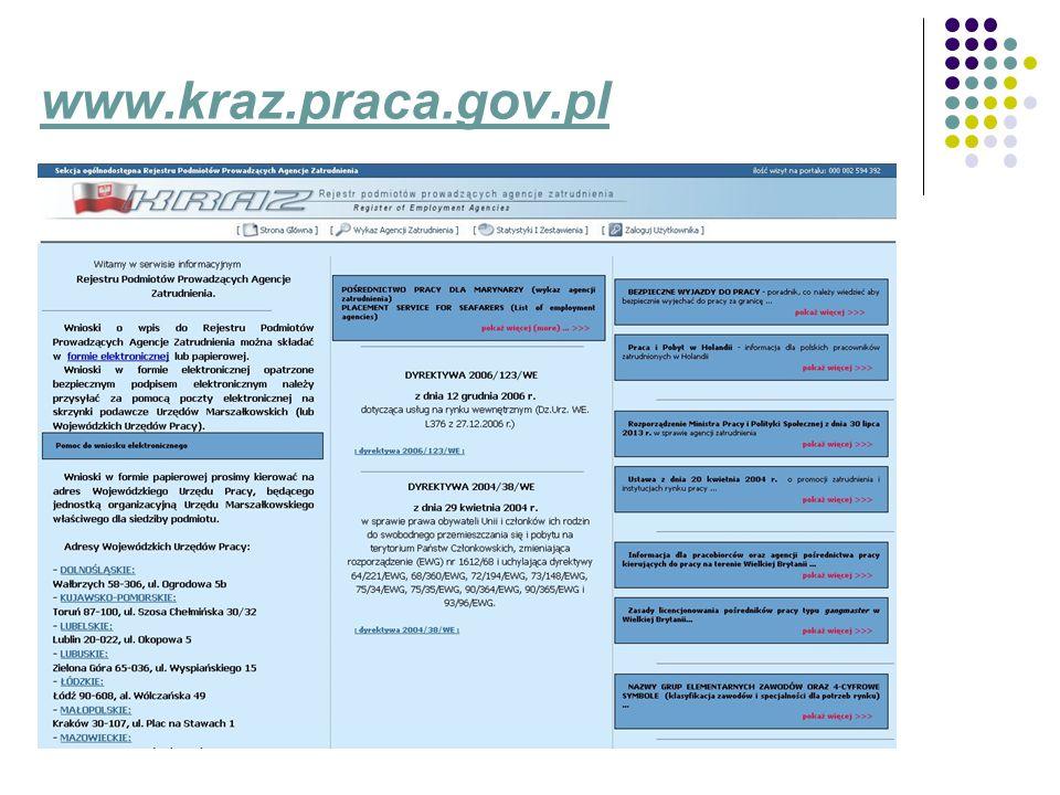 Formularz informacji o działalności praca tymczasowa