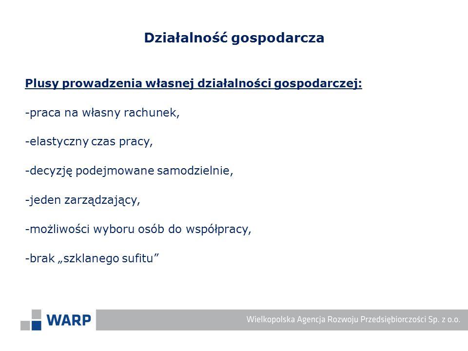 Dodatkowe dokumenty wymagane dla określonego rodzaju działalności gospodarczej: -koncesja np.