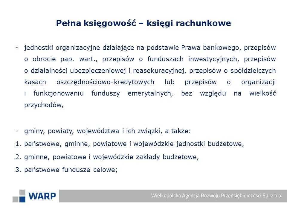 -jednostki organizacyjne działające na podstawie Prawa bankowego, przepisów o obrocie pap. wart., przepisów o funduszach inwestycyjnych, przepisów o d