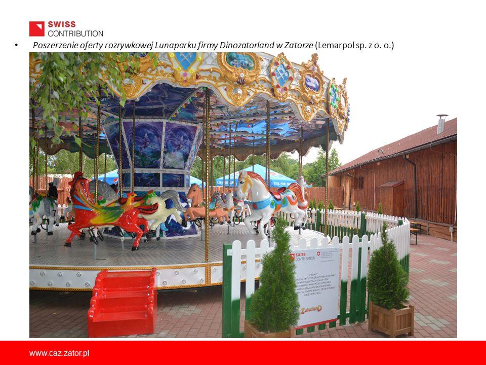 www.caz.zator.pl Poszerzenie oferty rozrywkowej Lunaparku firmy Dinozatorland w Zatorze (Lemarpol sp. z o. o.)