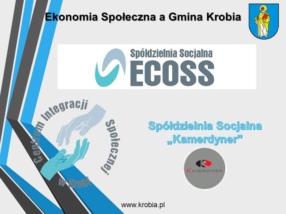 Ekonomia Społeczna a Gmina Krobia www.krobia.pl