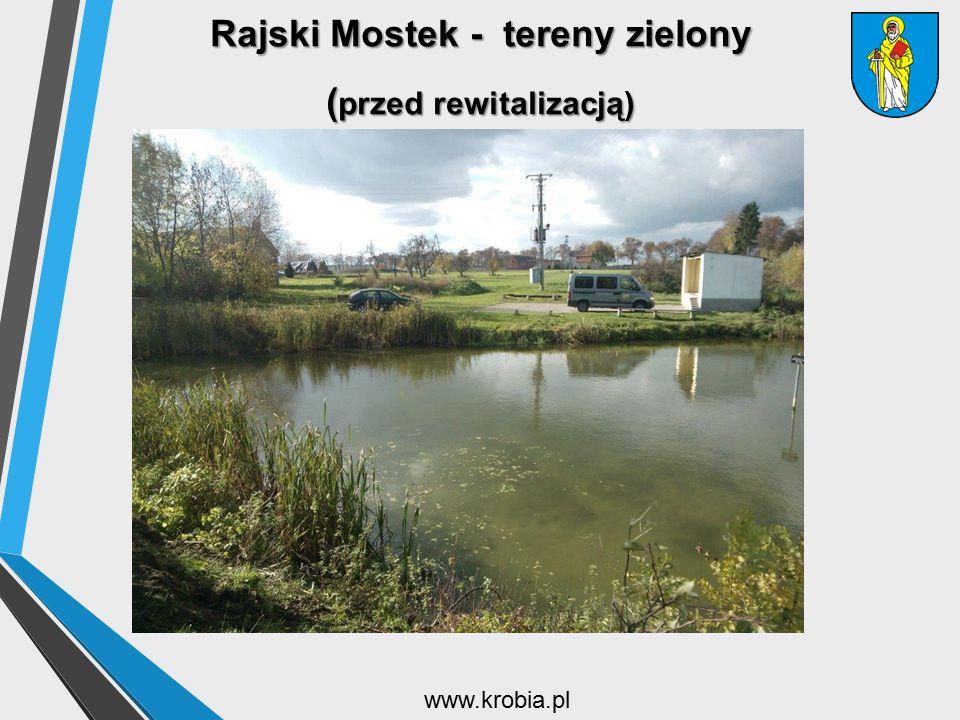 Rajski Mostek - tereny zielony ( przed rewitalizacją) www.krobia.pl