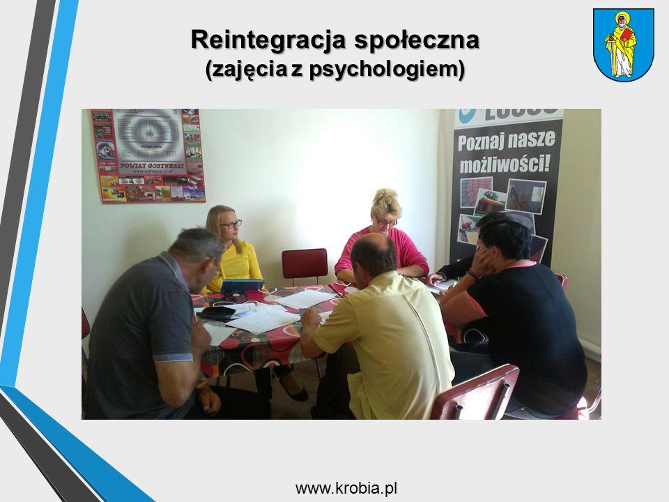 Reintegracja społeczna (zajęcia z psychologiem) www.krobia.pl
