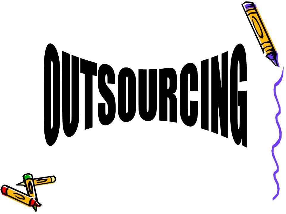 Ryzyka związane z outsourcingiem (Wady) Utrzymanie jakości Uzależnienie od firmy outsourcingowej Konflikt interesów Rozmycie odpowiedzialności Utrata tożsamości Zwalnianie niewygodnych pracowników
