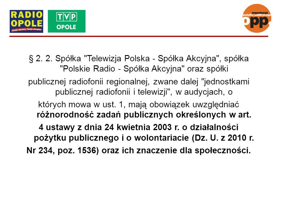 § 2. 2. Spółka