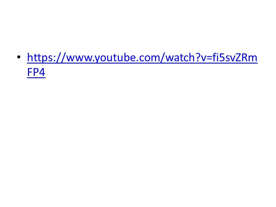 https://www.youtube.com/watch v=fi5svZRm FP4 https://www.youtube.com/watch v=fi5svZRm FP4