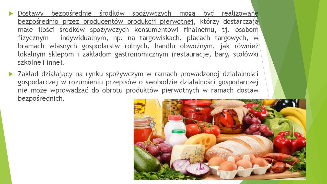 Wprowadzając do obrotu żywność wyprodukowaną w gospodarstwie rolnym należy przestrzegać obowiązków wynikających z Ustawy o bezpieczeństwie żywności i