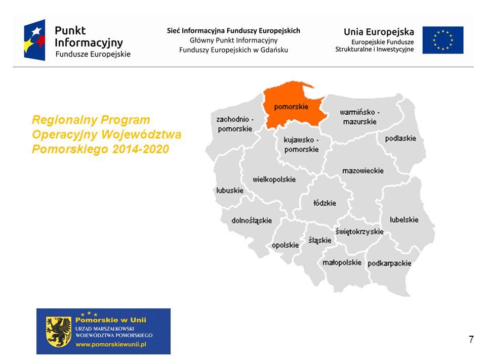 7 Regionalny Program Operacyjny Województwa Pomorskiego 2014-2020