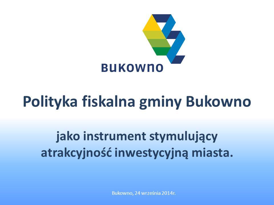 Polityka fiskalna gminy Bukowno jako instrument stymulujący atrakcyjność inwestycyjną miasta.