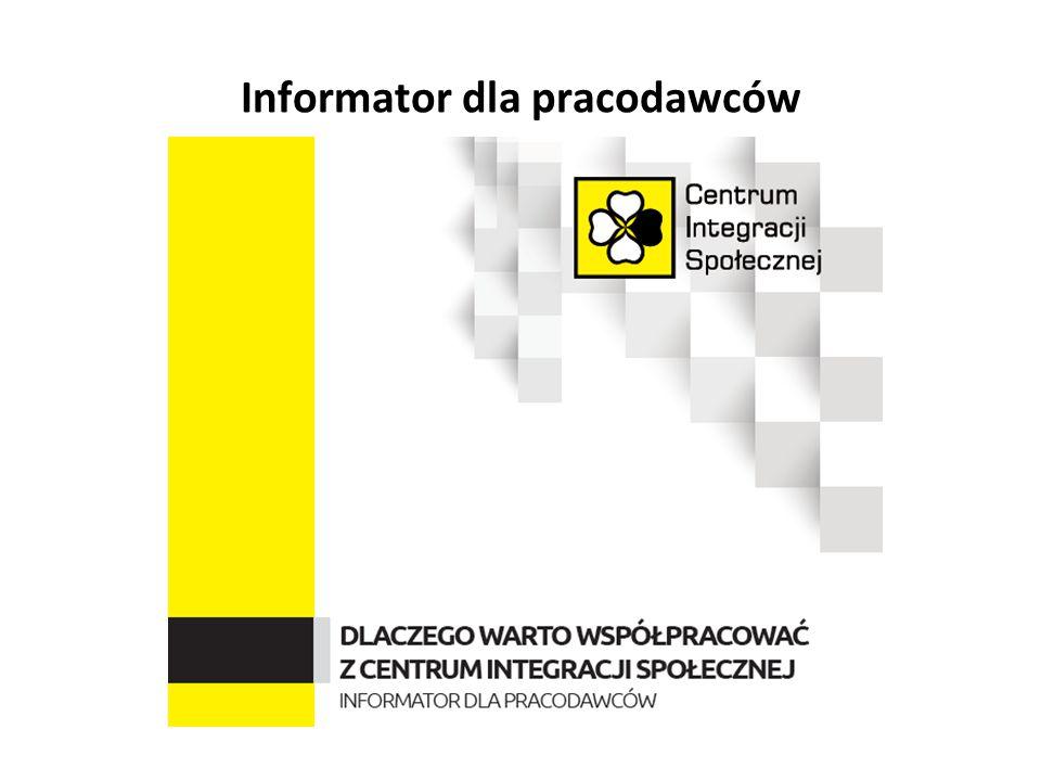 Informator dla pracodawców