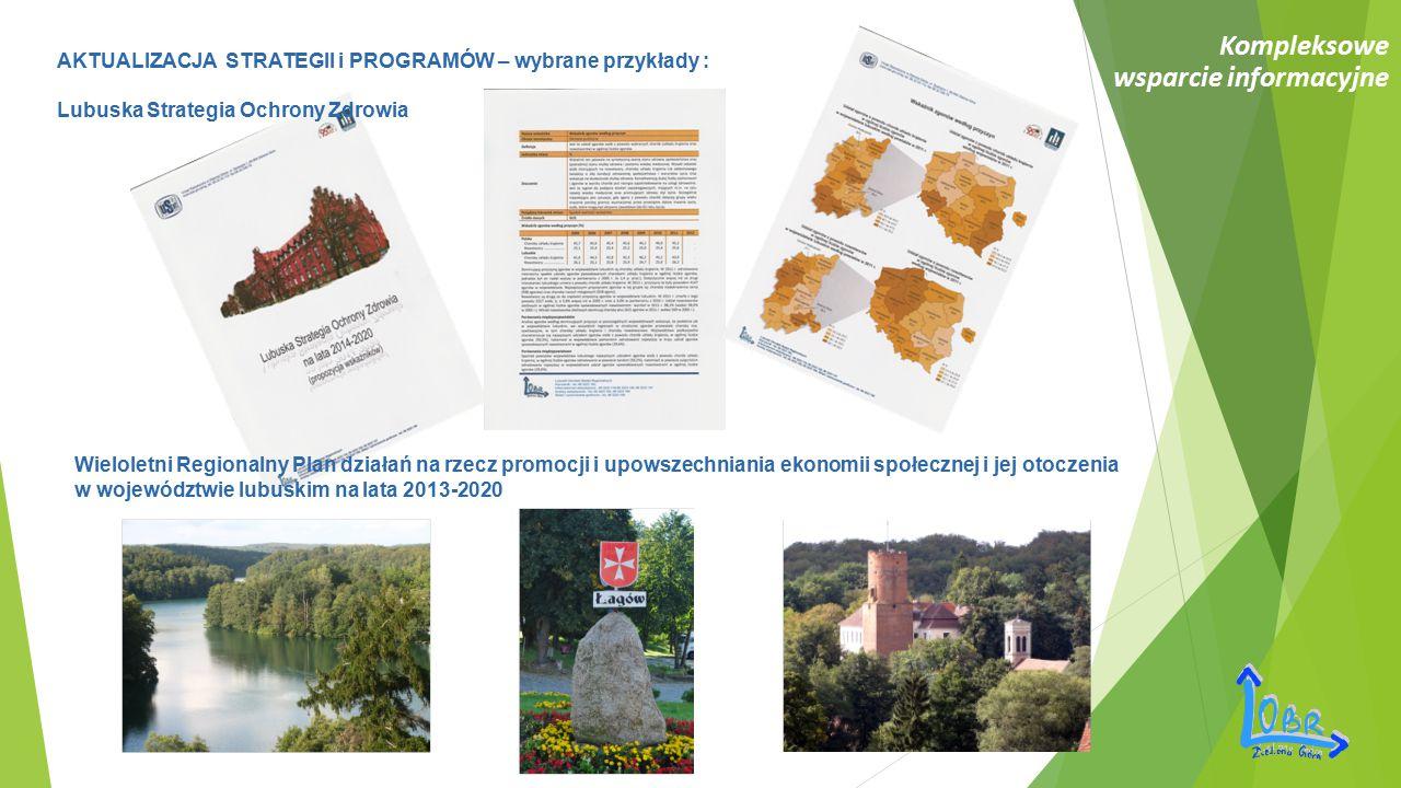 Kompleksowe wsparcie informacyjne Wieloletni Regionalny Plan działań na rzecz promocji i upowszechniania ekonomii społecznej i jej otoczenia w wojewód