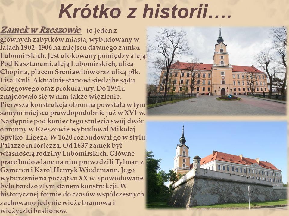 Krótko z historii….