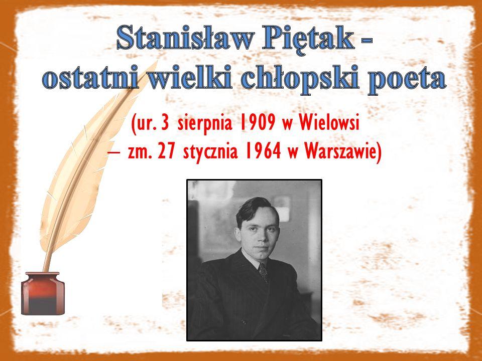 (ur. 3 sierpnia 1909 w Wielowsi – zm. 27 stycznia 1964 w Warszawie)