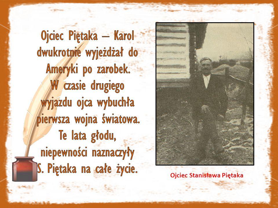 Ojciec Stanisława Piętaka