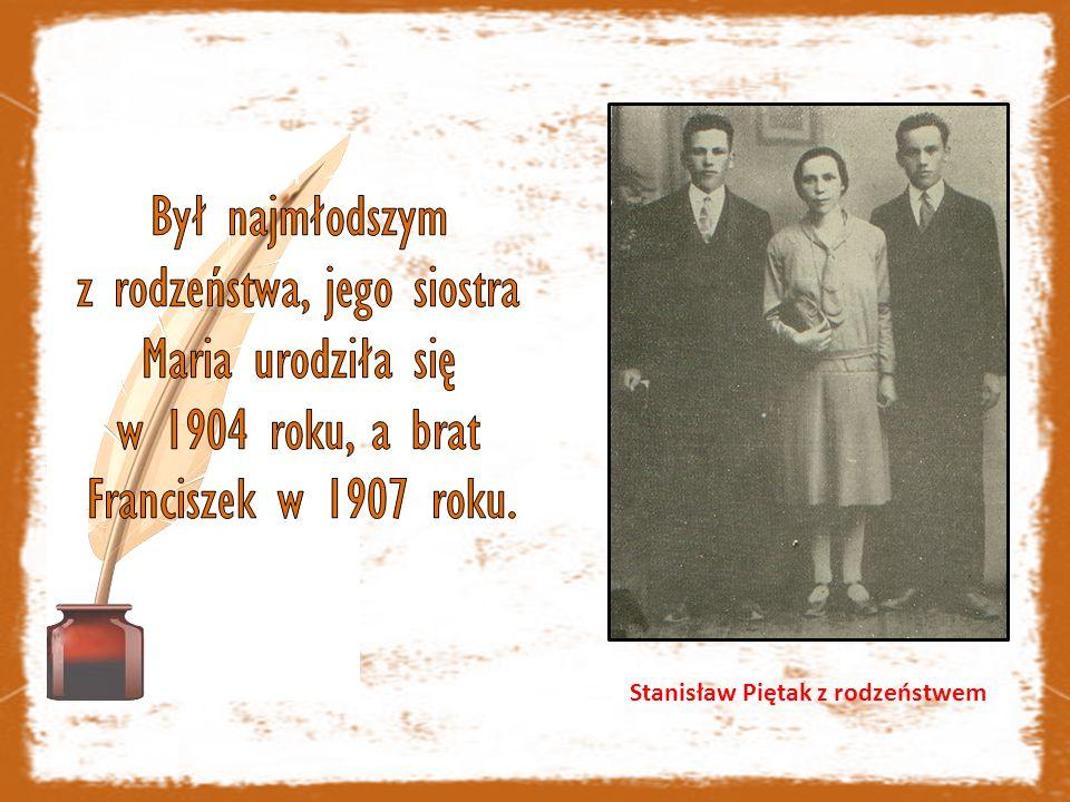 Stanisław Piętak z rodzeństwem