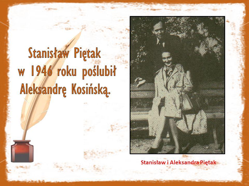Stanisław i Aleksandra Piętak