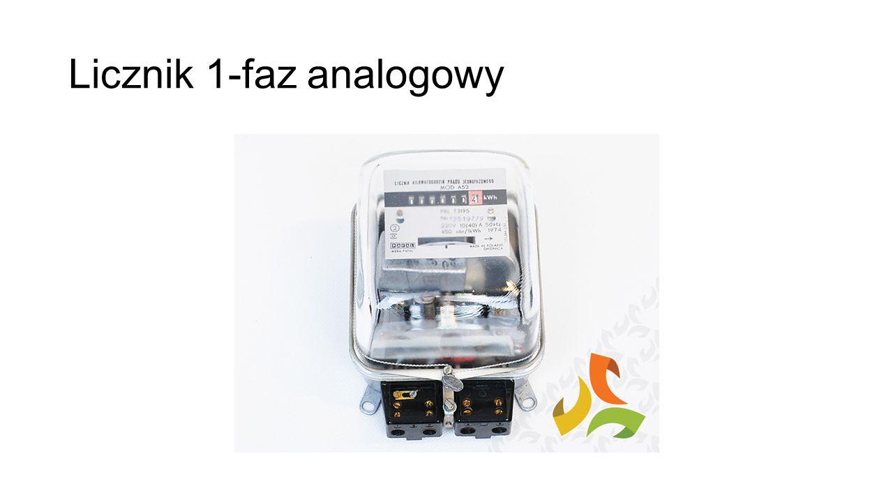 Licznik 1-faz analogowy