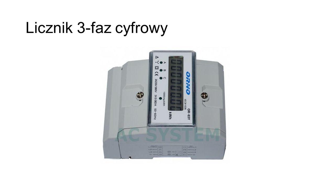 Licznik 3-faz cyfrowy