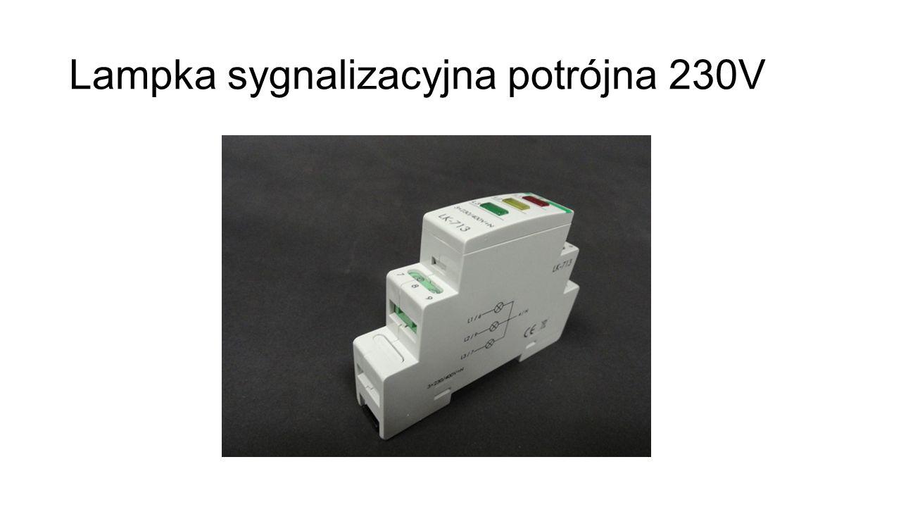 Lampka sygnalizacyjna potrójna 230V