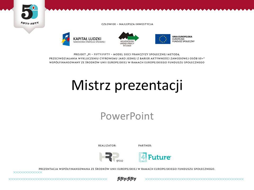 Mistrz prezentacji PowerPoint