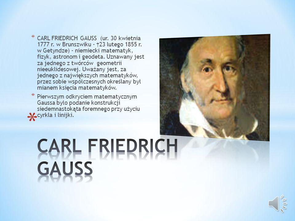 * PIERRE de FERMAT (urodzony 17 sierpnia 1601 - zmarł 12 stycznia 1665), matematyk francuski (samouk), z zawodu prawnik i lingwista. Większość jego pr