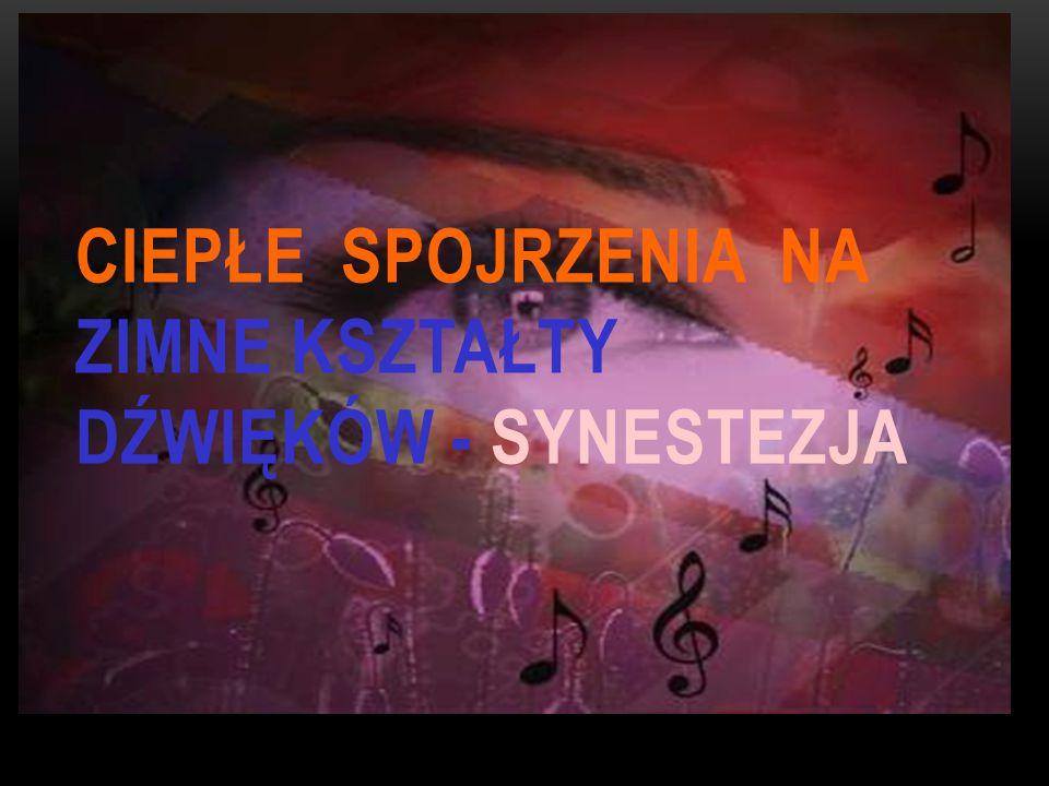 Podsumowując synestezja jest świetnym, a czasem wręcz nieuniknionym środkiem stylistycznym żeby obrazowo opisać nasze wrażenia związane ze zmysłami.