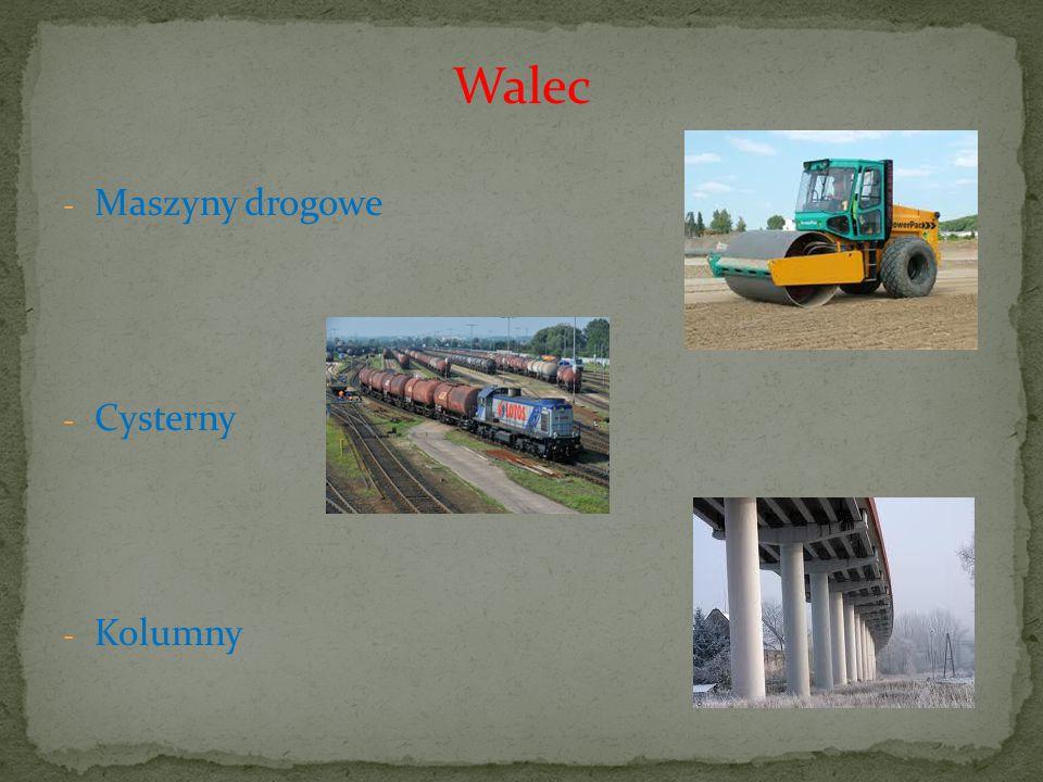 Walec - Maszyny drogowe - Cysterny - Kolumny