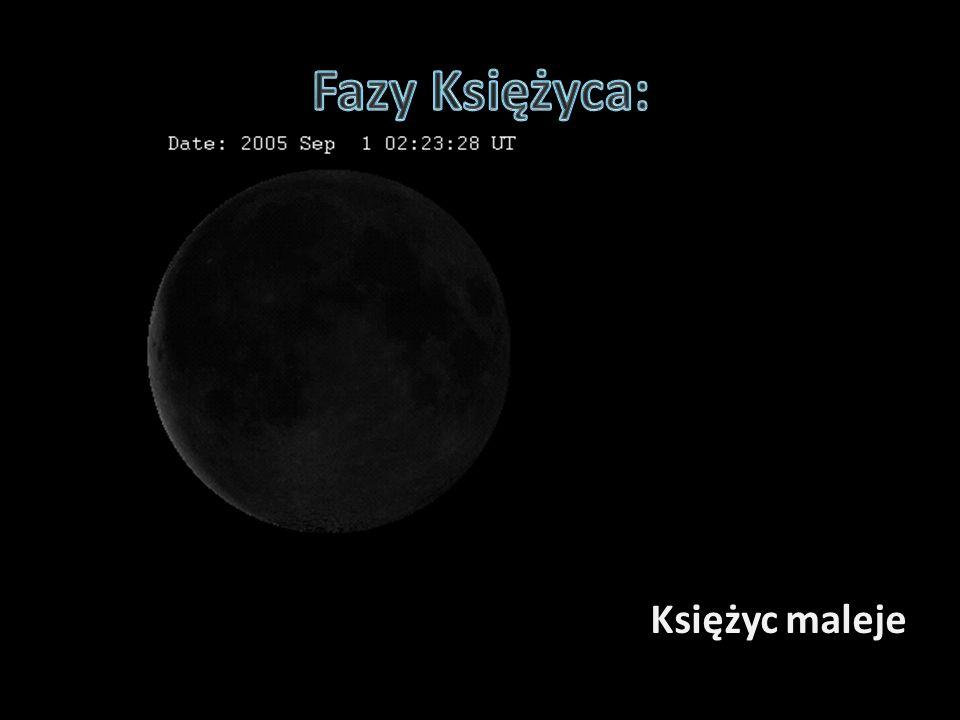 Księżyc maleje