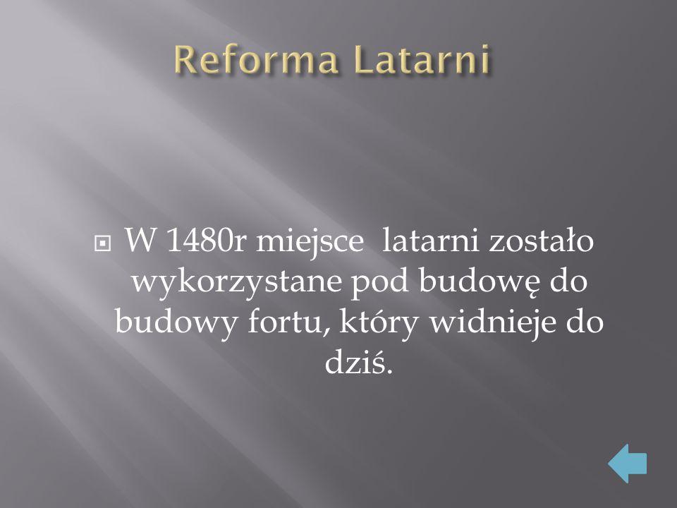  Obecnie pełni funkcję Muzeum Morskiego na fundamentach starożytnej Latarni.