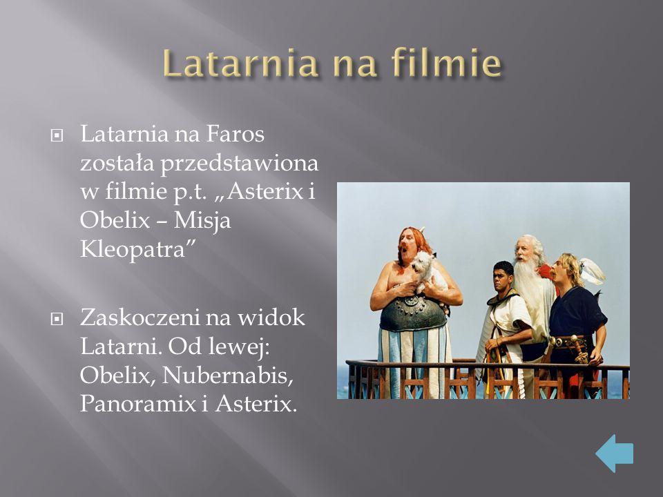  Latarnia na Faros została przedstawiona w filmie p.t.
