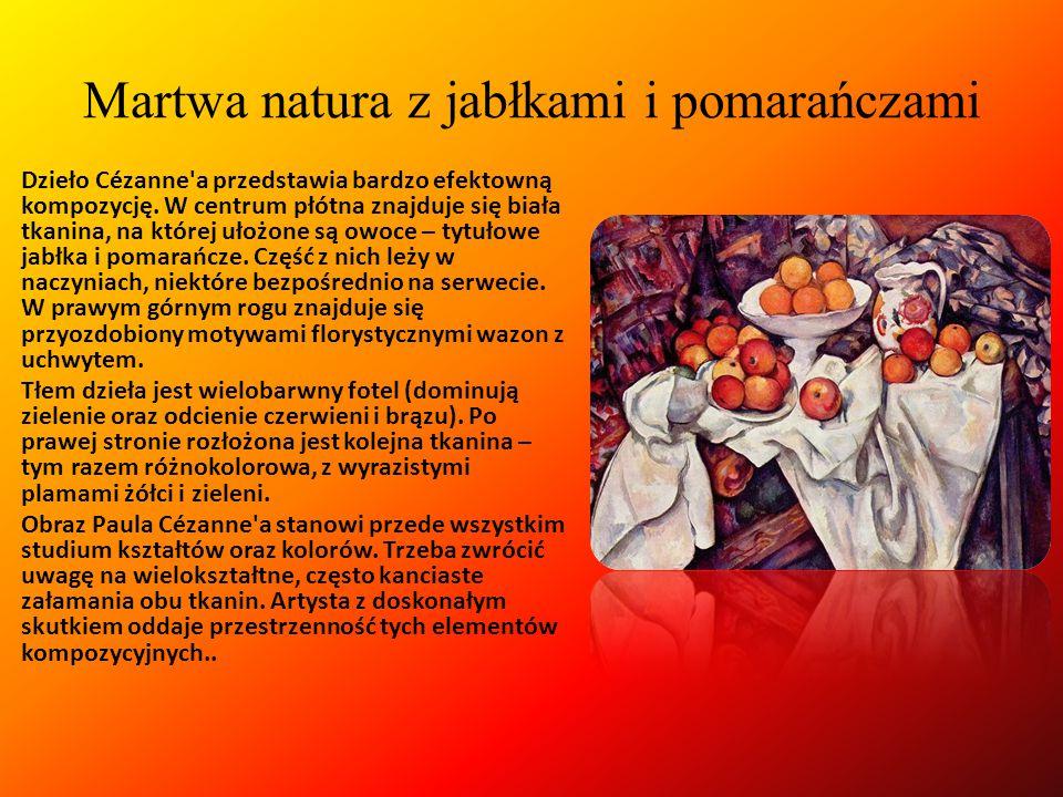 Paul Cézanne (ur. 19 stycznia 1839, zm. 22 października 1906) – francuski malarz postimpresjonistyczny, którego twórczość stanowi pomost pomiędzy impr